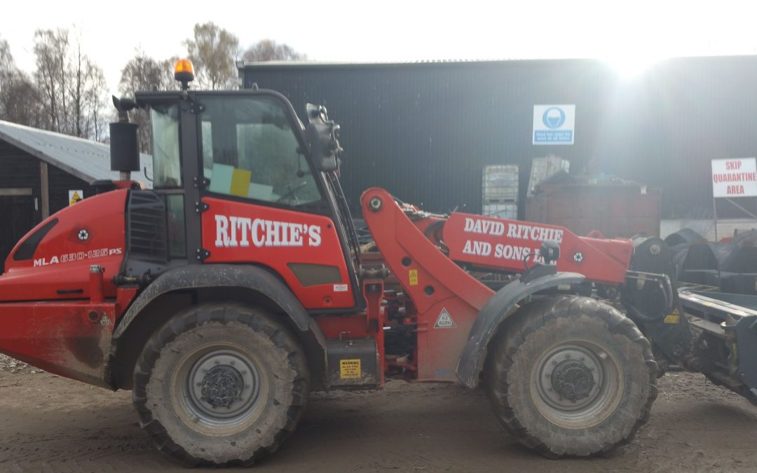 Liveried Manitou