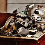 Scrap Metal in a skip